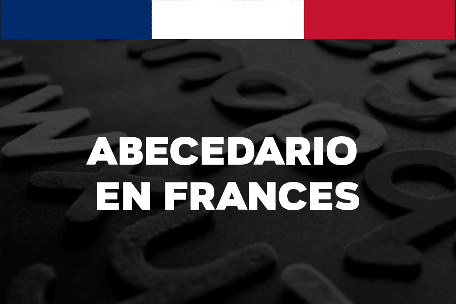 el abecedario en frances