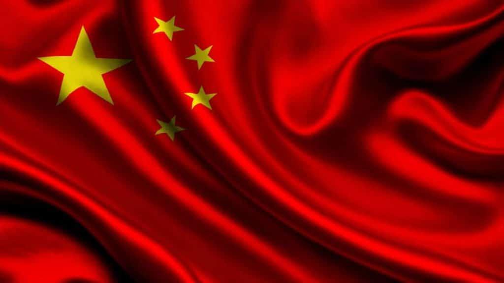 bandera oficial de china