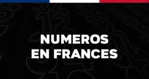 Los números en francés del 1 al 1000