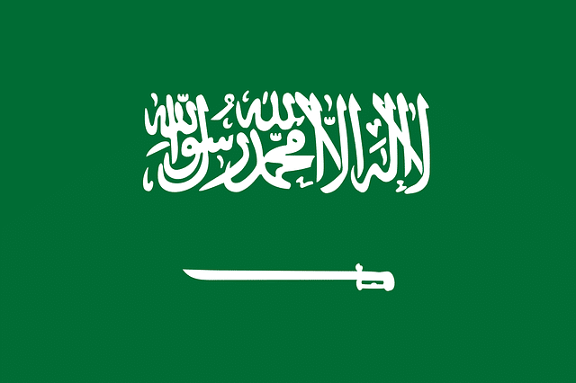 bandera arabia