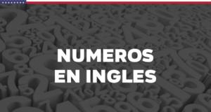 Los números en inglés del 1 al 1000