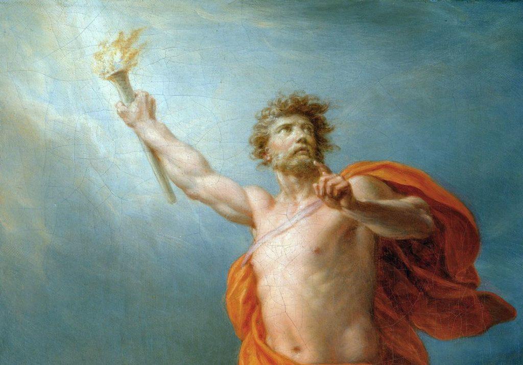 mito de prometeo y pandora